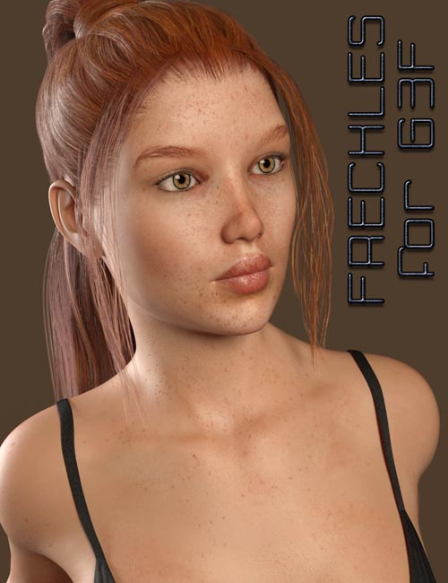 Skintastic Skin MR - Freckles G3F