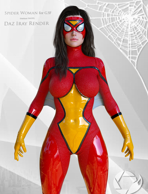 Spider Woman Suit for G3F