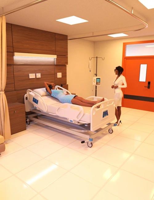 Modern Hospital Room