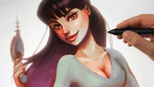 Udemy - The Ultimate Digital Painting Course - Beginner to Advanced