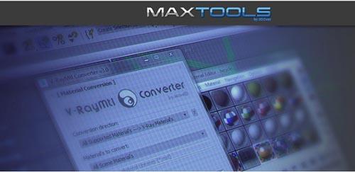 maxtools V-RayMtl Converter v3.97 for 3ds Max 2013 to 2020 Win