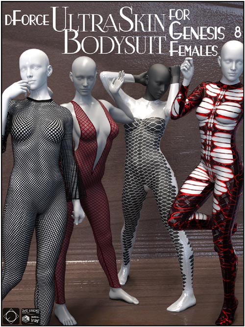 dForce UltraSkin Bodysuit for Genesis 8 Females