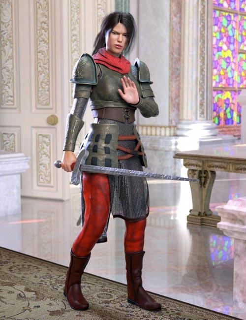 dForce The Dark Hunter for Genesis 8 Female(s)