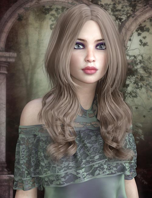 Savanna Hair for Genesis 8 Female(s)