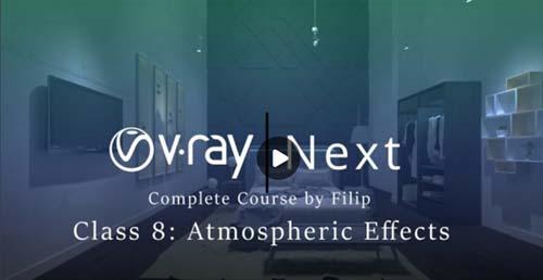 Skillshare - Vray Next Class 8 : Atmospheric Effects