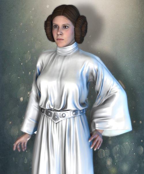 SW Princess Leia Bundle for V4G3F