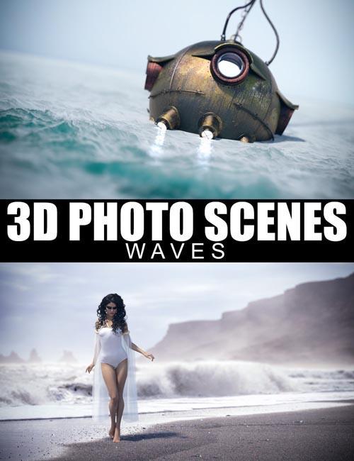 3D Photo Scenes – Waves