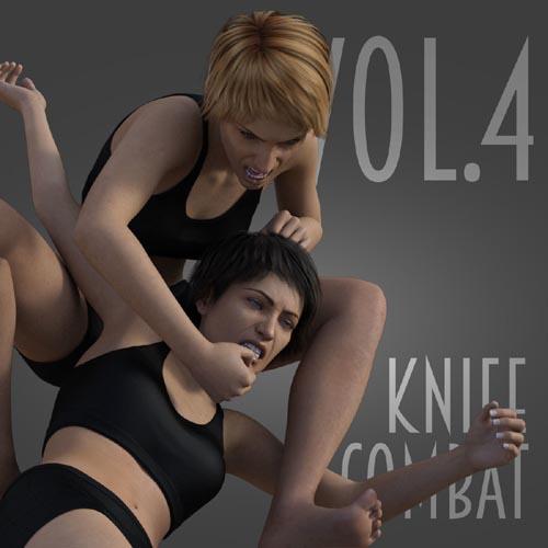Knife Combat vol.4 for Genesis 8 Female