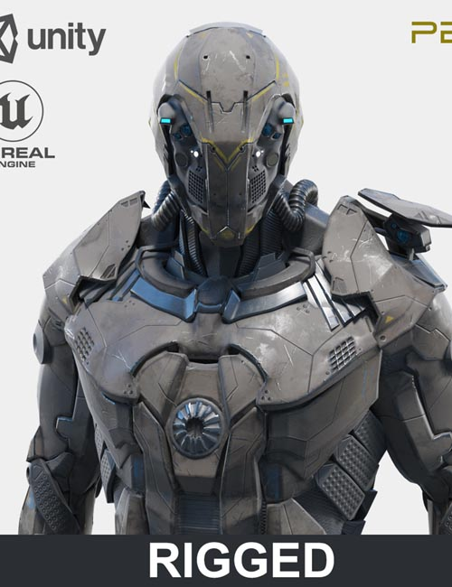 Character Robot Soldier