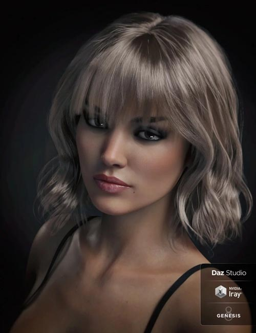 Taylor Hair For Genesis 8 Female(s)