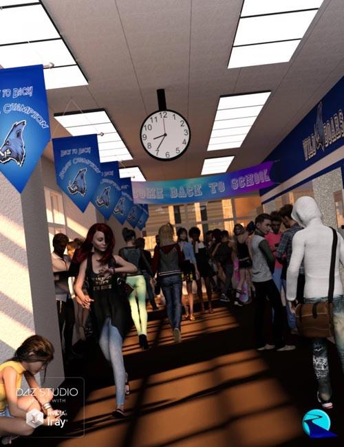 Now-Crowd Billboards - School Life