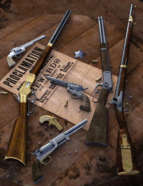 Old West Firearms Vol 3