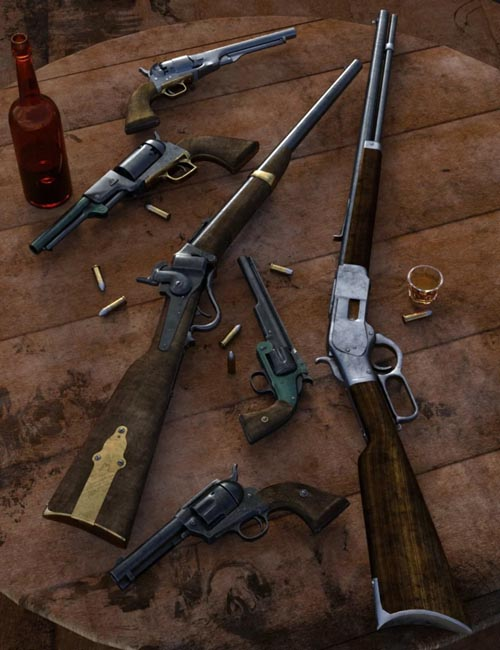 Old West Firearms Vol 1