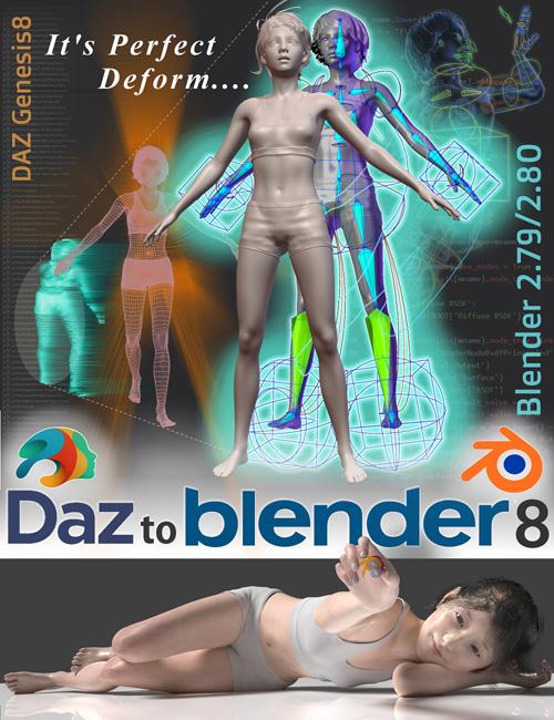 DAZtoBlender8 (v1.9.3.3) (Update 06-2020)