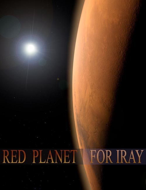 Red Planet for Iray
