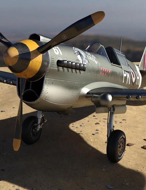 War Hawk Military Aircraft Texture Pack