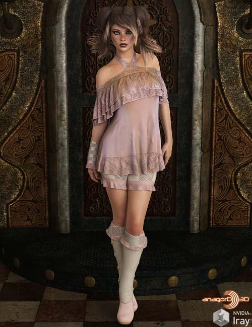 VERSUS - Oh La La dforce outfit for Genesis 8 Females