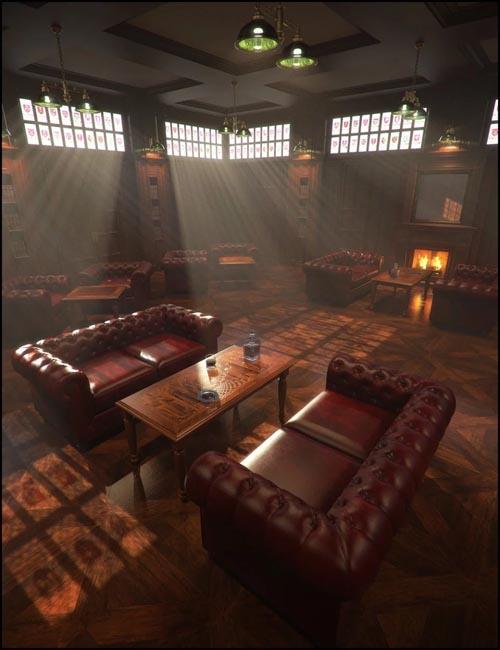 Gentlemen's Game Room Iray Addon