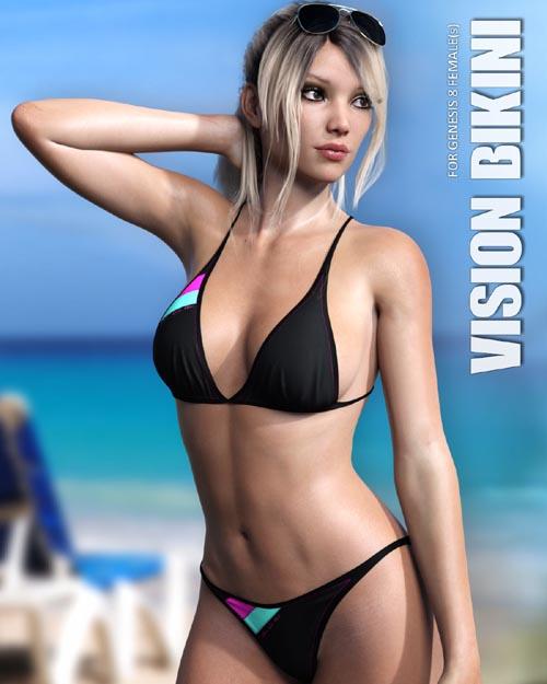 Vision Bikini for Genesis 8 Females