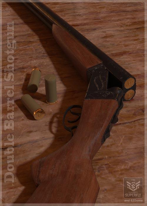 Double Barrel Shotgun