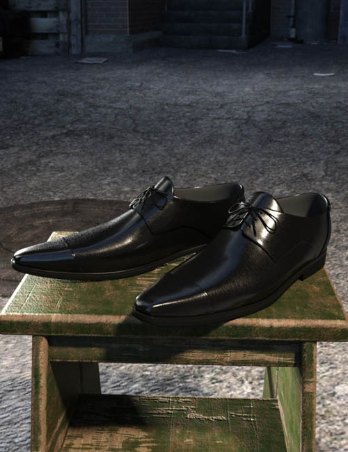 Long Nose Shoes II for Genesis 8 Male(s)