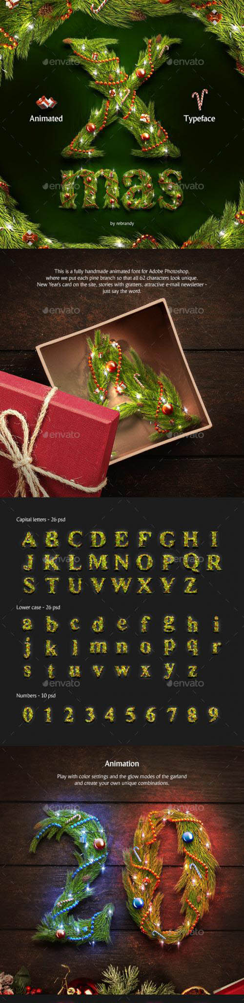 Christmas Animated Typeface - 24819053