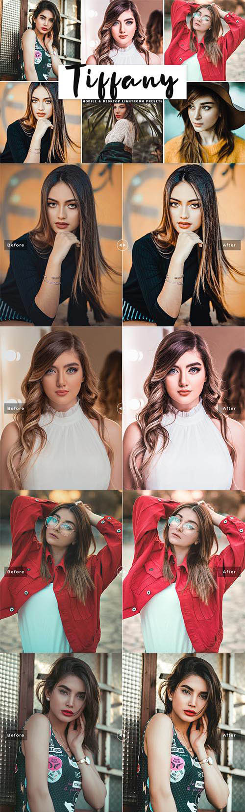 Tiffany Mobile & Desktop Lightroom Presets