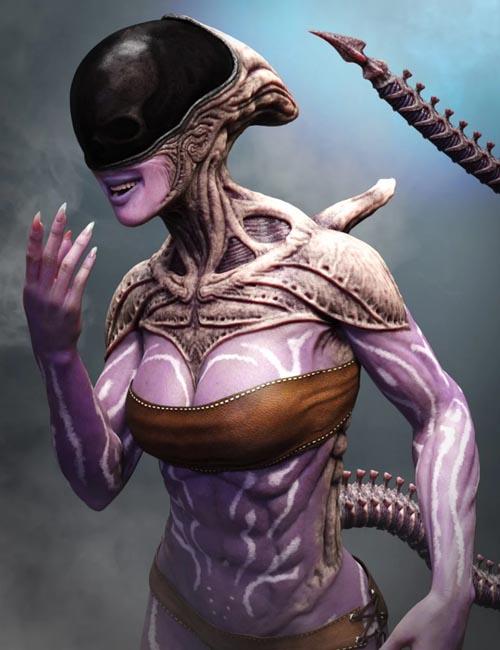 Mysterious Alien HD for Genesis 8 Female