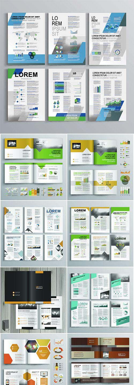 Brochure template vector design # 2
