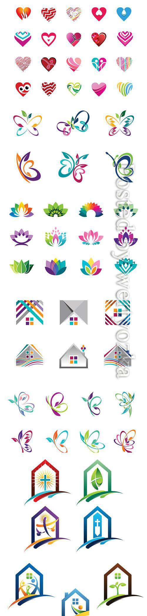 Designer logos in vector # 2