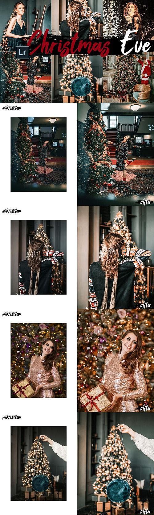 05 Christmas Eve Desktop Lightroom Presets and ACR preset - 407108