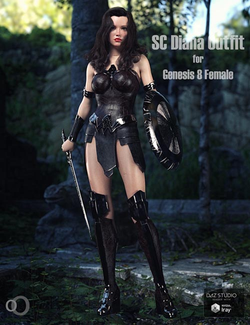 SC Diana Outfit for Genesis 8 Female