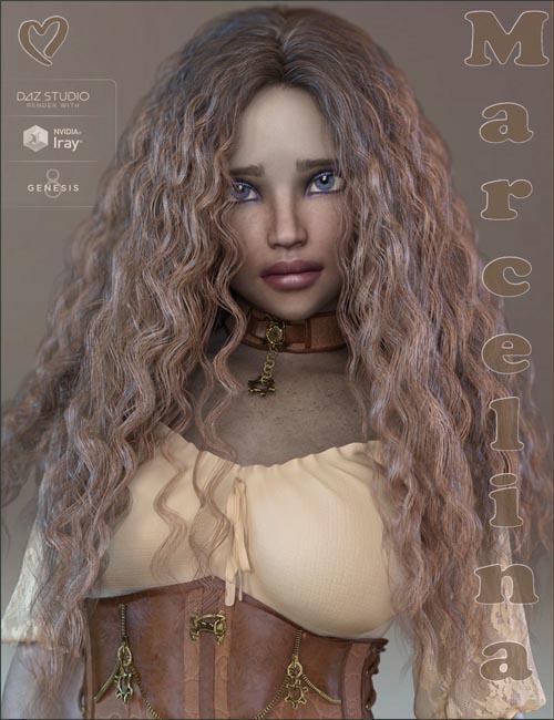 TDT-Marcelina for Genesis 8 Female