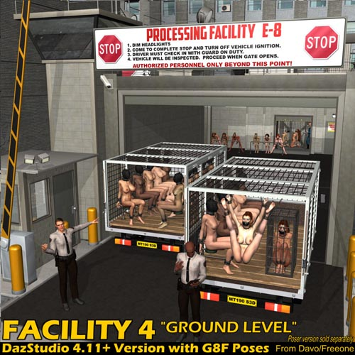 Facility 4 Ground Level For DazStudio 4.11