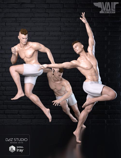 Dynamic Poses for Genesis 8 Male(s)