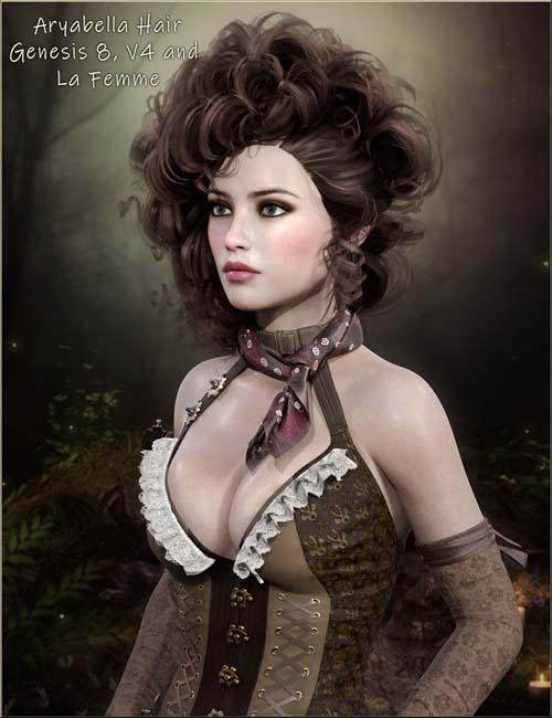 Aryabella Hair G8, V4, La Femme
