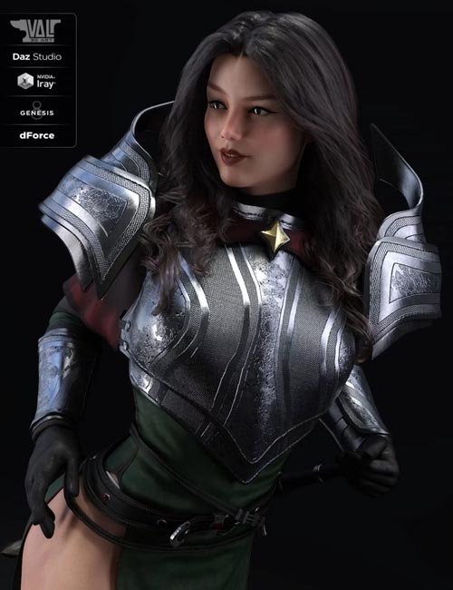 dForce Valerya Outfit for Genesis 8 Female(s)