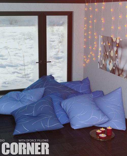 Comfy Corner Daz Studio