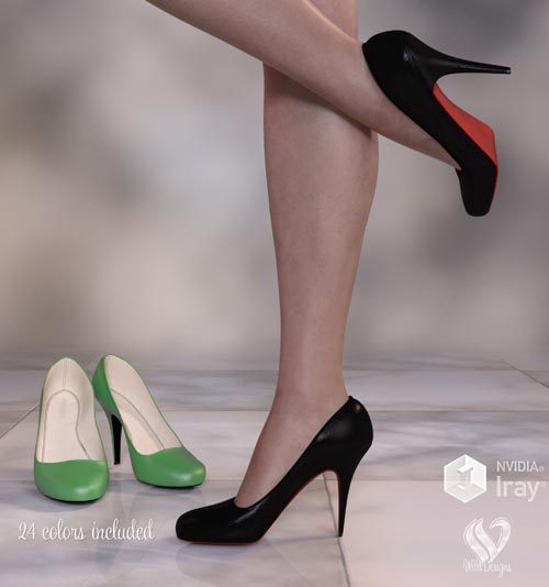 Classic Pumps for Genesis 8 Females