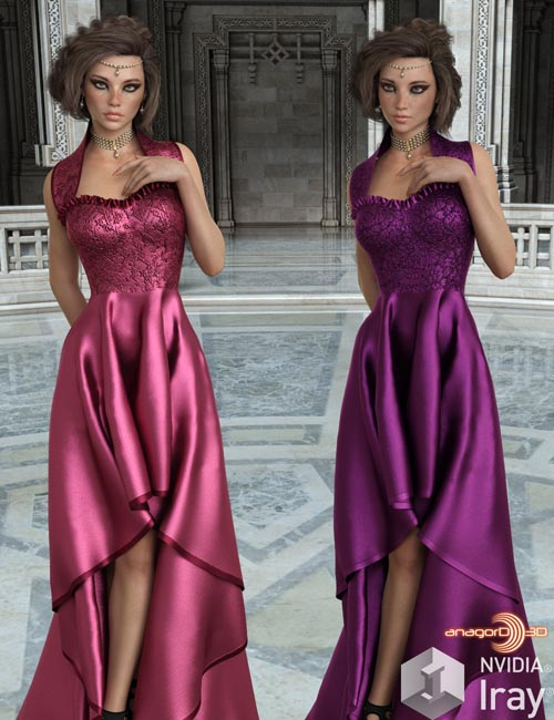 VERSUS - dForce - Train Dress for G8F