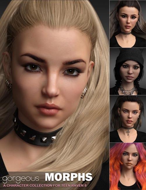 Gorgeous Morphs for Teen Raven 8