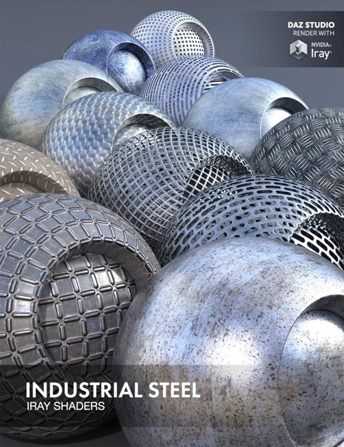 Industrial Steel - Iray Shaders