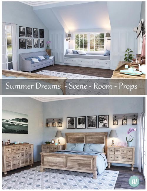 iV Summer Dreams Bedroom