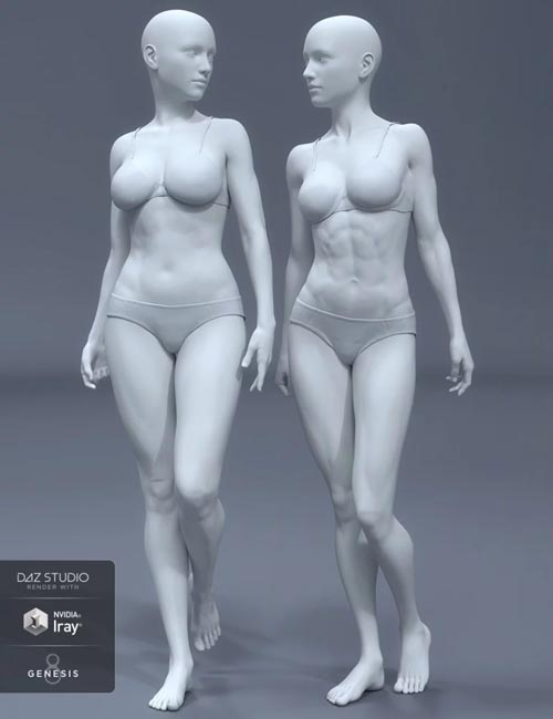 HD Body Shapes for Genesis 8 Female