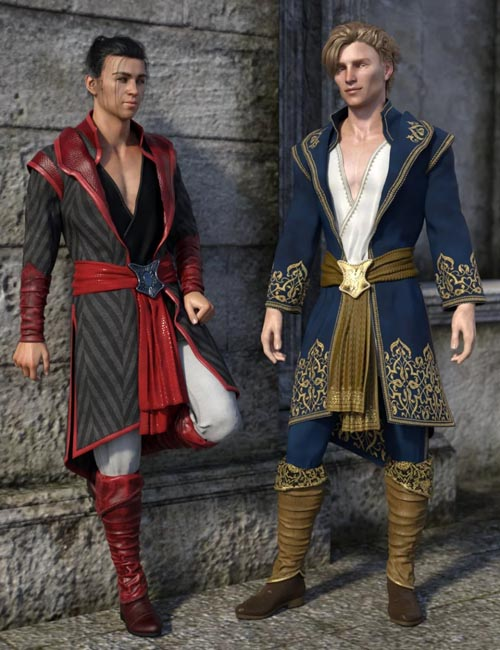 dForce Royal Fantasy Outfit Textures