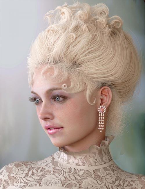 My Edwardian Hair for Genesis 8 Female(s)