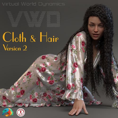 VWD Cloth and Hair - Version 2