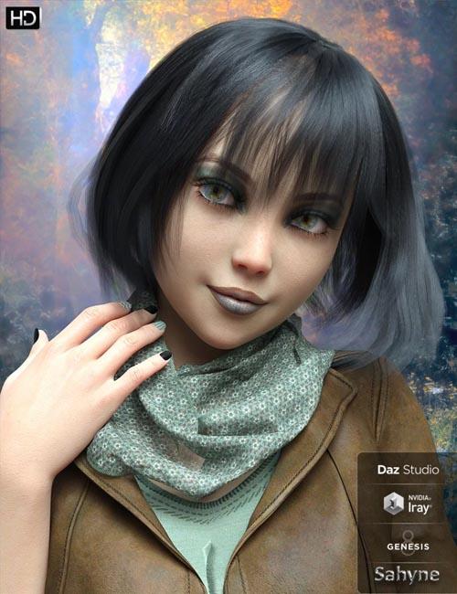 Sahyne HD for Genesis 8 Female