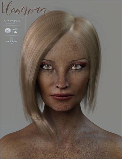 TDT-Eleonora for Genesis 8 Female