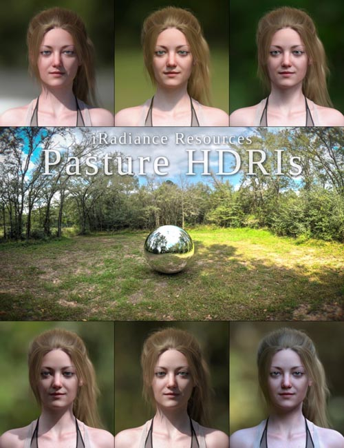 iRadiance HDR Resources - Country Pasture